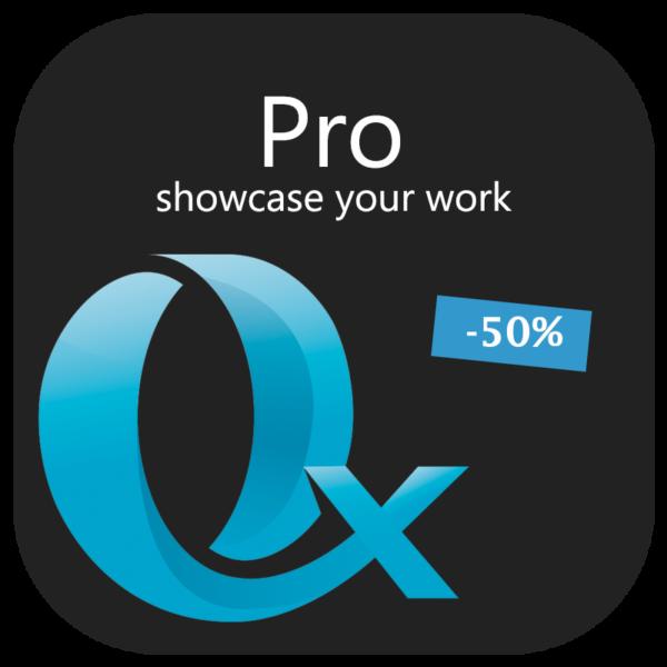 Pro - showcase your work - 50 percent discount